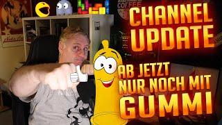 Ab jetzt nur noch mit Gummi | Channel Update thumbnail