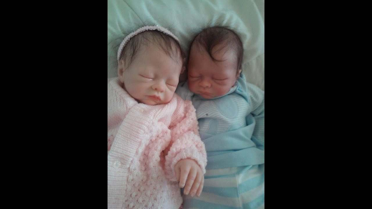 Precious newborn reborn twin baby babies for sale april 2015 youtube