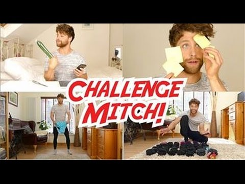 Guinness World Record Challenges  Mitch Hewer