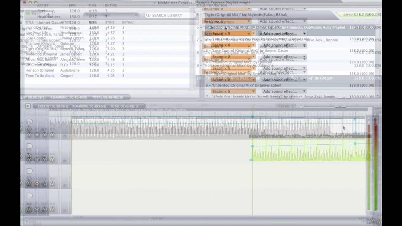 mixmeister express 7 free download