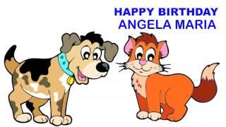 AngelaMariaEnglish pronunciation   Children & Infantiles - Happy Birthday