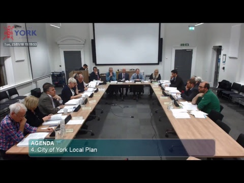 Local Plan Working Group, 23 January 2018