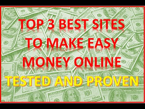 Top 3 Best Sites to Make Money Online (Tested and Proven)