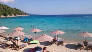 Греция - Автопарк туристов, Встретил бомжа в Греции, Халкидики море и пляжи