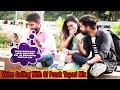 Video Calling With Girlfriend Prank Tapori MIX || NSB