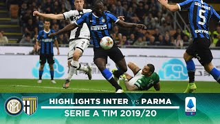 INTER 2-2 PARMA | HIGHLIGHTS | Candreva and Lukaku are not enough! ⚫🔵