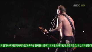 LIVE | HD | Metallica - Nothing else Matters @ Seoul 2006