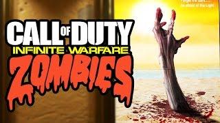 NEW INFINITE WARFARE ZOMBIES TEASER! MULTIPLE MAPS? MOVIE UNIVERSES! (COD Infinite Warfare Zombies)