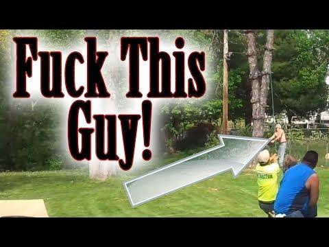 FUCK YOU! Dans Tree Service (Dan the tree man (missouri))