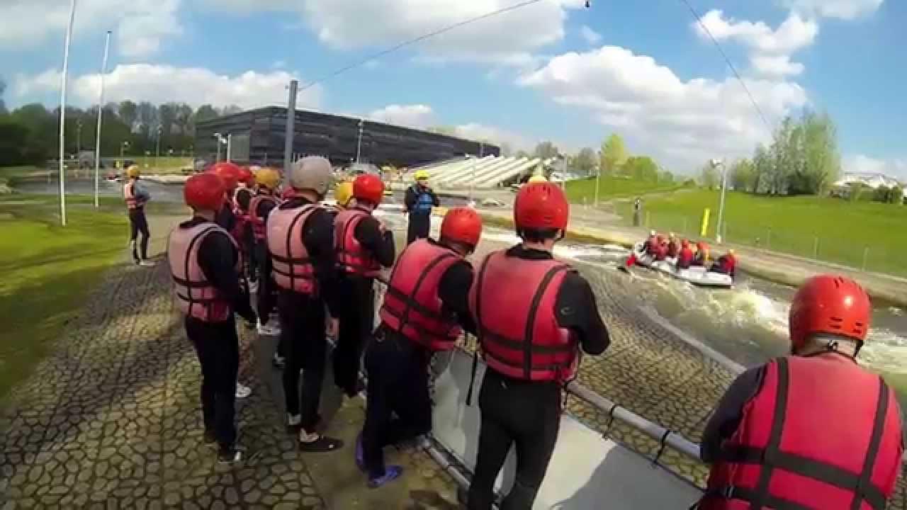 Wild water raften, Zoetermeer - YouTube