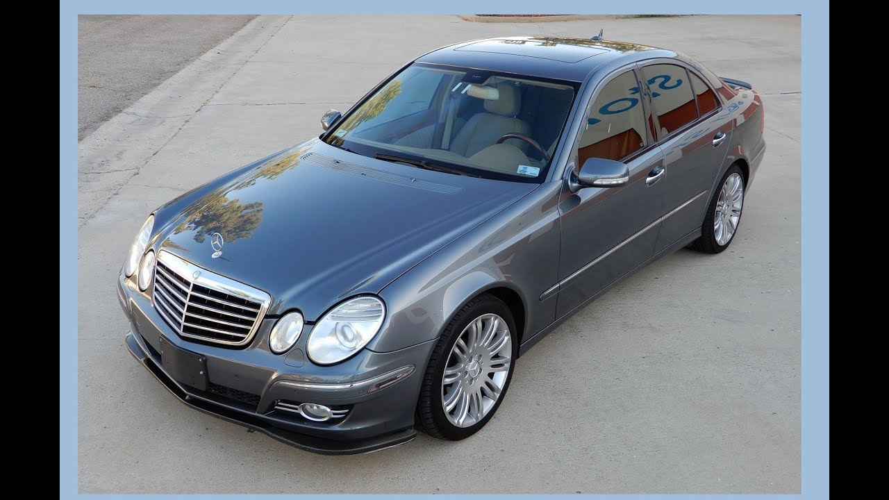 2007 mercedes benz e550 sedan for sale clean e class