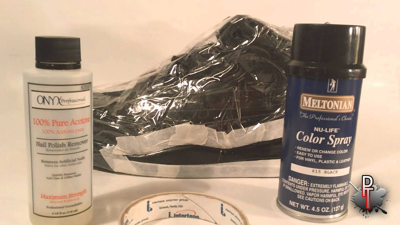 Repainting Midsoles Tutorial - Meltonian Nu Life - YouTube