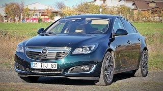 Opel Insignia 1.6 dizel - otomatik test sürüşü - yorum - inceleme