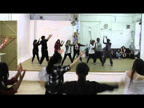 "LKD Workshop - group performing Infinite's ""Before The Dawn"""
