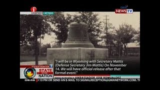 SONA: Makasaysayang Balangiga Bells ng Eastern Samar, ibabalik na ng Amerika sa Pilipinas