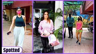 Jacqueline Fernandez, Khushi Kapoor and Janhavi Kapoor & more Celebs Spotted at outside  