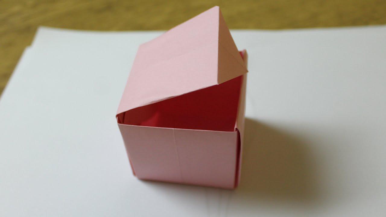 Como hacer una caja de papel con tapa youtube - Como forrar una caja con tela ...