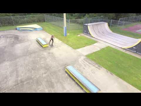 Rookie Drone Pilot Flies Deltona Skatepark - 2 by TheRoCHeMusic
