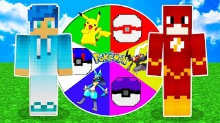 GIRA LA RULETA DE LUCKY BLOCK PIXELMON Y CAPTURA UN LEGENDARIO 😍 POKEMON EN MINECRAFT ROLEPLAY