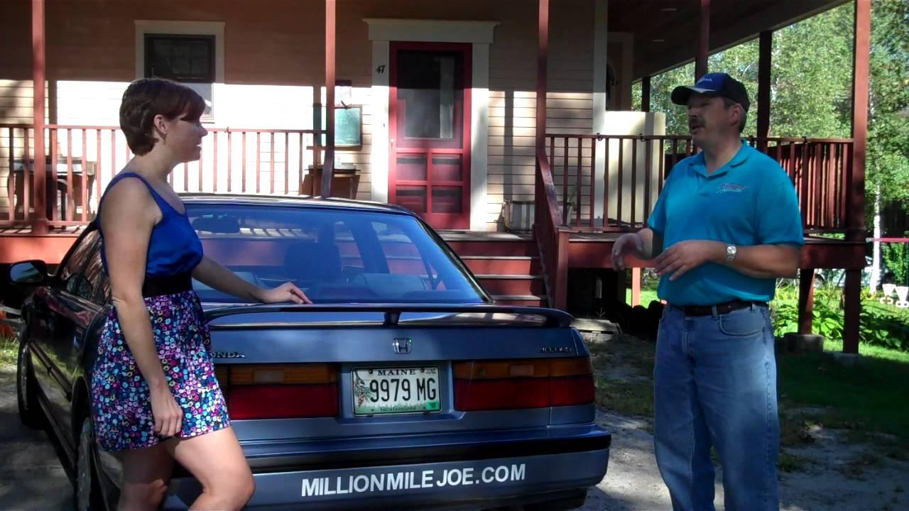 Million Mile Joe Gives Car Maintenance Tips To Blue