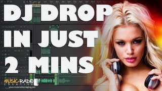 Adobe Audition DJ Drop Tip (How To Make DJ Drops In 2 Mins)