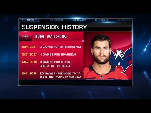 NHL Tonight:  Tom Wilson ejected for late hit on Brett Seney  Nov 30,  2018