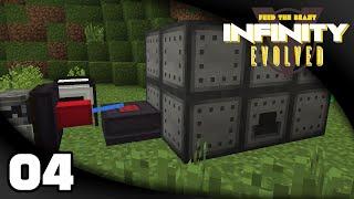 Infinity Evolved - Ep 4: Rock Crusher and Blast Furnace   FTB Infinity Evolved Expert Mode