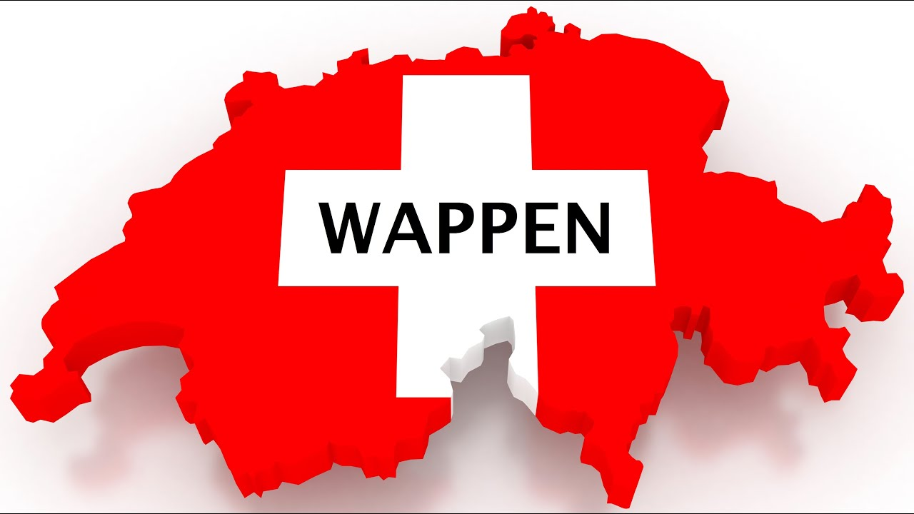 Wappen der Kantone (Schweiz) (C&C) - YouTube