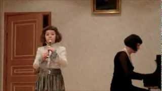 Менуэт. И.С. Бах. Блок-флейта - Уля Федоринина, 7 лет.