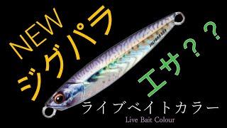 新ジグパラライブベイトカラー 実釣インプレ+水中映像 【ショアジギング】ファーストインプレッション