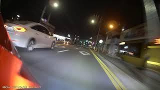 이노브K3 블랙박스 전방 야간 주행 영상2