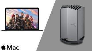 Blackmagic eGPU -  Mac Gaming Benchmark