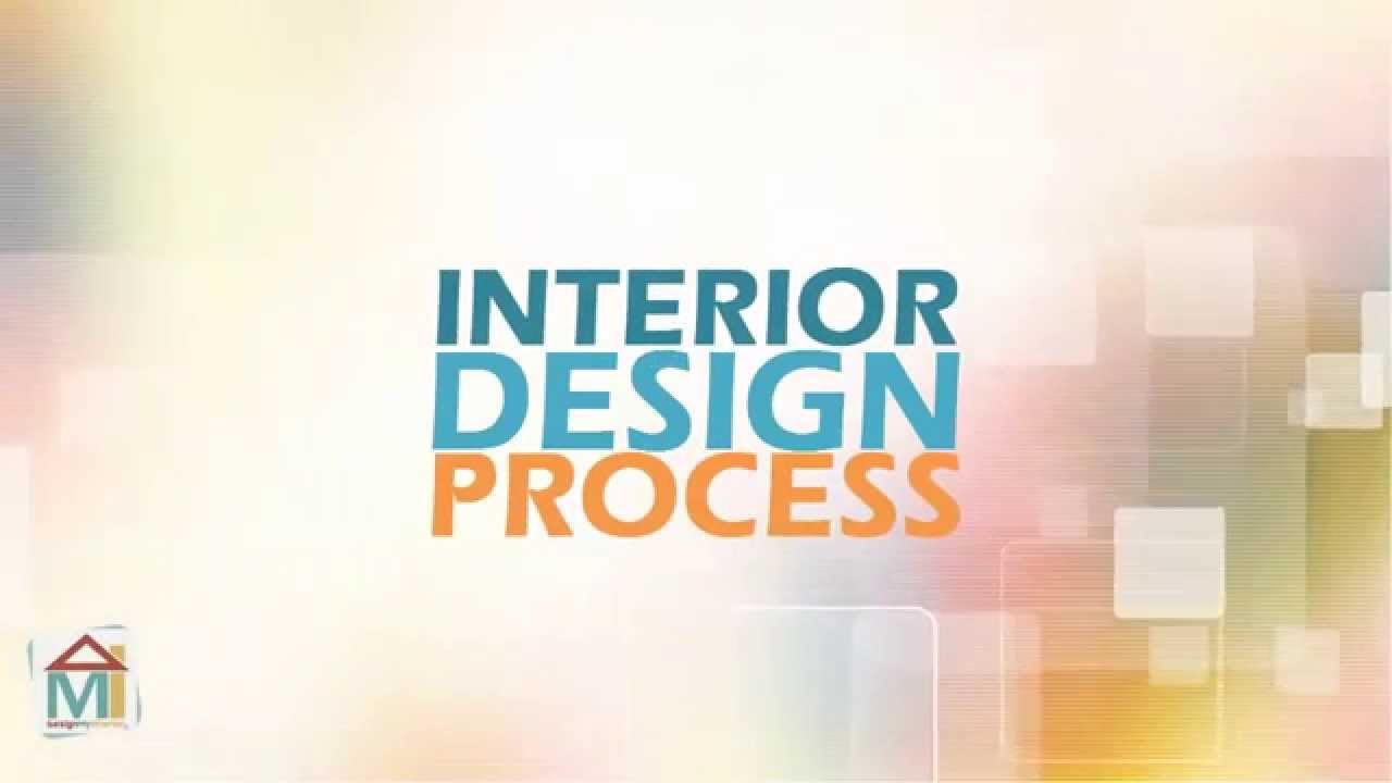 interior design process steps - YouTube