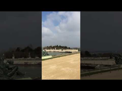 The back side of Versailles