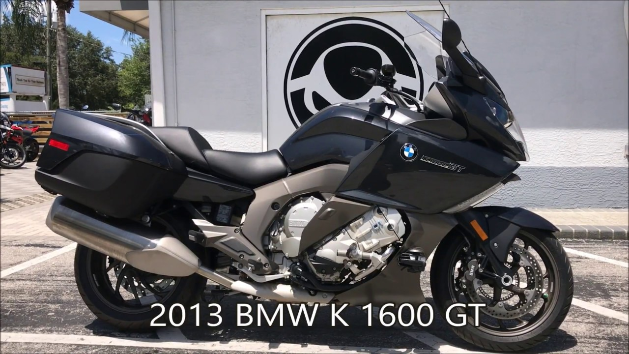 pre-owned bmw 2013 k 1600 gt at euro cycles of tampa bay - youtube