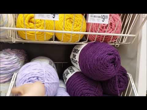 Yarn Shopping Michaels For 6 Jumbo Rolls On Sale Yarn Haul