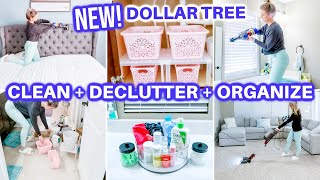 **CLEAN DECLUTTER ORGANIZE WITH ME | SPEED CLEANING MOTIVATION | BATHROOM ORGANIZATION | DOLLAR TREE
