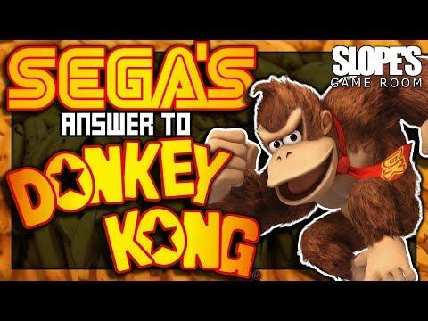 SEGA's answer to DONKEY KONG! - SGR