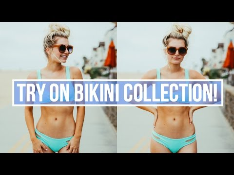 BIKINI TRY ON COLLECTION + SWIMSUIT HAUL! | Aspyn Ovard