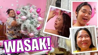 ANG NEW YEAR'S RESOLUTION NG MGA BAKLA (GOODBYE CHRISTMAS DECORS) | LC VLOGS #218