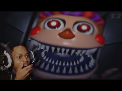 HERE WE GO AGAIN!! I HATE YOU BB!!   Five Night's At Freddy's 4 (Halloween Update)