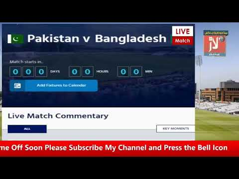 PTV Sports Laar TV : Bangladesh Vs Pakistan Warm-up | World Cup 2019 | Live Scores and Commentary