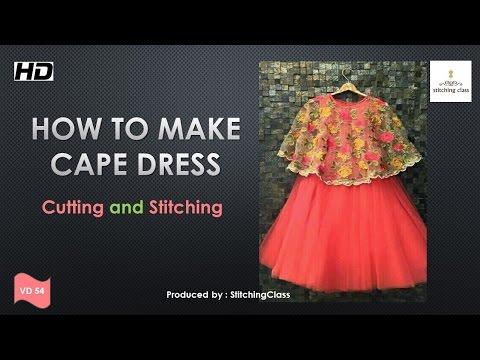 Cape Cutting And Stitching