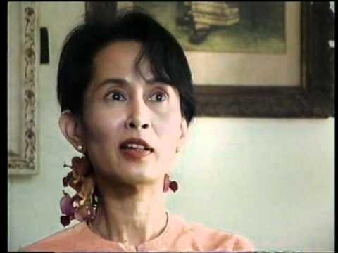 Aung San Suu Kyi - Portrait of courage 1/2