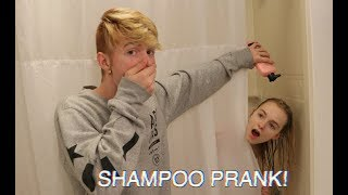"SHAMPOO PRANK ON ZOE IN THE SHOWER! ""HILARIOUS"""