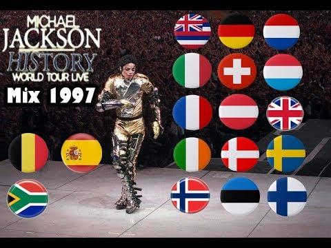 Download Michael Jackson - History Medley - HIStory World Tour Mix 1997 - HWT