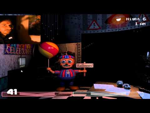 Five Nights At Freddy's 2 FR- Fonkythrough- la 6eme nuit ! Episode Maxi Best-of avec suppléments