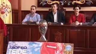 Presentación de Trofeo Teide, Los Realejos