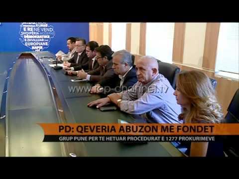 PD: Qeveria abuzon me fondet - Top Channel Albania - News - Lajme