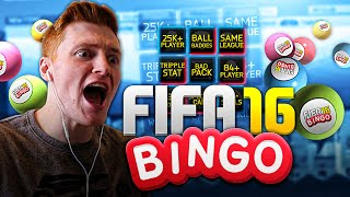 FIFA 16 - EPIC FIFA BINGO WITH HUGE BACK TO BACK PULLS!!!